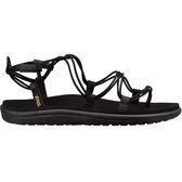 TEVA VOYA INFINITY 織帶羅馬涼鞋 - 黑 1019622BLK