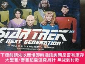 二手書博民逛書店Star罕見Trek: The Next Generation 365星際旅行:下一代365Y17986 Bl