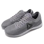 Reebok 訓練鞋 R CrossFit Nano 8.0 灰 健身專用 運動鞋 男鞋【PUMP306】 CN2976