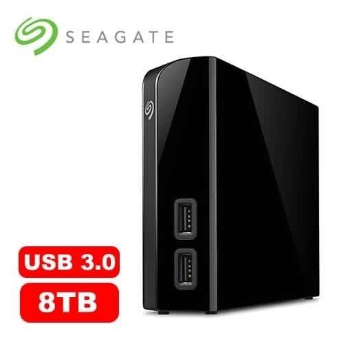 """全新Seagate Backup Plus Desktop 8TB 3.5""""外接硬碟 with HUB"""