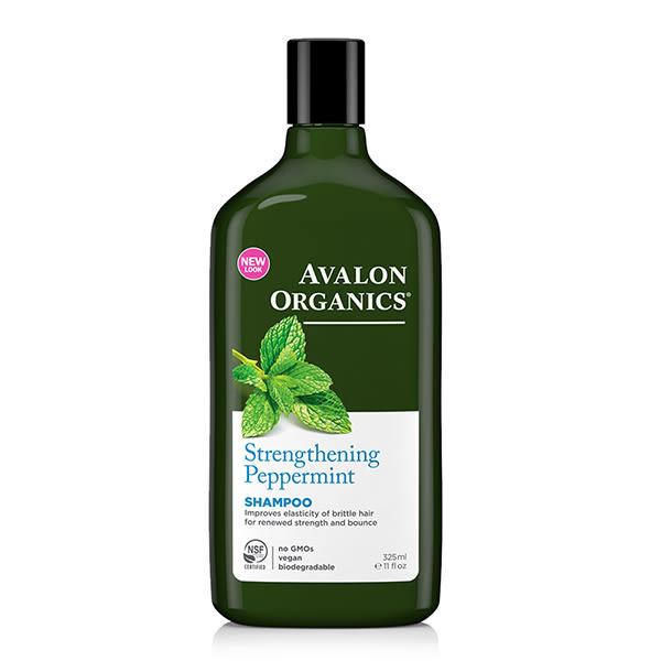 AVALON ORGANICS 薄荷強健精油洗髮精 11oz/325ml