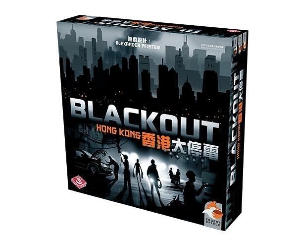 『高雄龐奇桌遊』 香港大停電 Blackout Hong Kong 繁體中文版 正版桌上遊戲專賣店