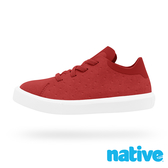 native 小童鞋 MONACO 短筒摩納哥休閒鞋-蘋果紅x貝殼白