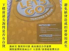 二手書博民逛書店Let s罕見Go: 2: Teacher s Book With Test Center PackY4314