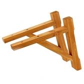 特力屋北美杉三角籬笆支撐架 2入