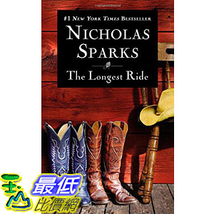 [104美國直購] 美國暢銷書排行榜 The Longest Ride Mass Market Paperback