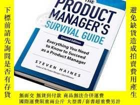 二手書博民逛書店產品經理生存指南罕見英文原版 The Product Manager's Survival GuideY210