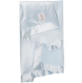 美國頂級御用攜帶毯禮盒組: 天鵝絨: 天藍: Giraffe-V-211