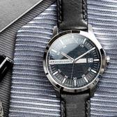 【人文行旅】A/X Armani Exchange   亞曼尼 AX2101 時尚格紋紳士腕錶