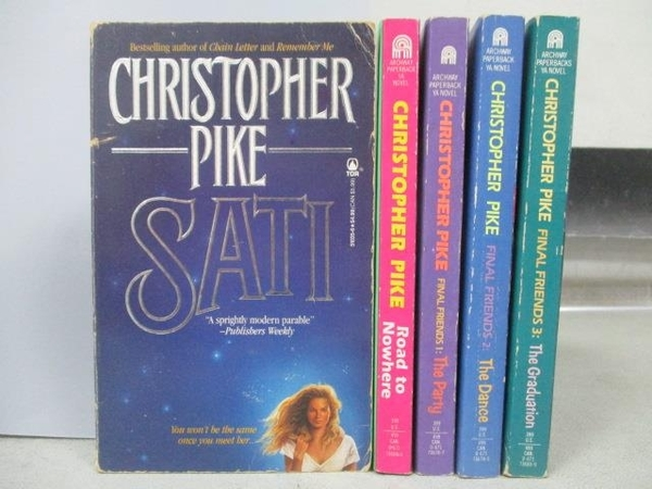 【書寶二手書T4/原文小說_MOW】Christopher Pike-Road to Nowhere_the Party