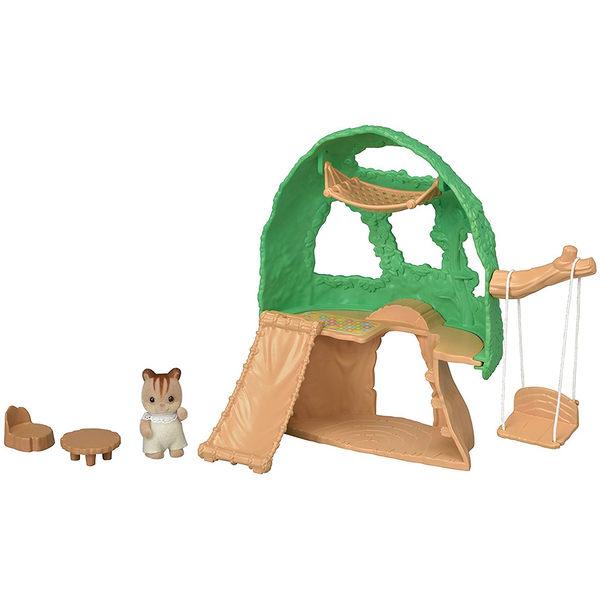森林家族 場景 嬰兒森林小樹屋