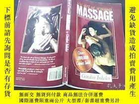 二手書博民逛書店the罕見art of sensual MASSAGEY2380