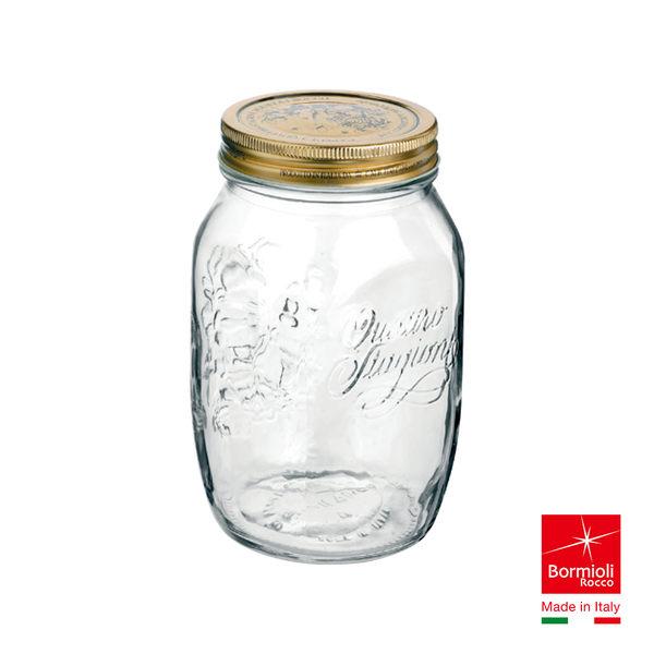 義大利Bormioli Rocco 四季果醬圓罐(1L) 密封罐 飲料罐 儲物罐  重複使用 保鮮 好生活