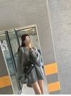 2021年秋裝新款寬松慵懶風麻花加厚針織衫中長款毛衣女GB110-E.7116 1號公館