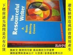 二手書博民逛書店The罕見Resourceful Writer A Basic Writing Course third edit