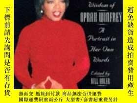 二手書博民逛書店The罕見Uncommon Wisdom Of Oprah Winfrey: A Portrait In Her