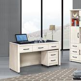 【新北大】P727-1 艾拉5尺書桌(575)(不含活動櫃)-2019購