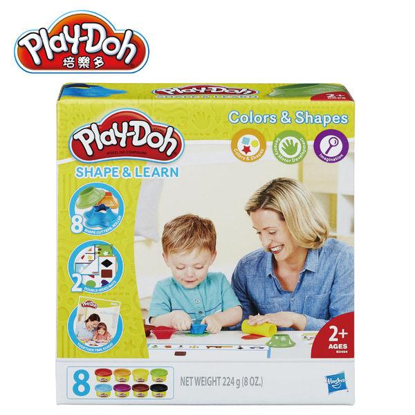 Play-Doh培樂多-色彩形狀學習遊戲組