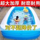 兒童充氣游泳池加厚寶寶家用嬰兒新生兒成人超大號家庭海洋球水池