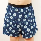 SOLIS-鐵馬之旅系列120-150印花四角男童褲(靛藍色)
