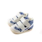 亞瑟士 ASICS FABRE FIRST CT3 休閒布鞋 寶寶鞋 魔鬼氈 藍/白 小童 1144A015-400 no386