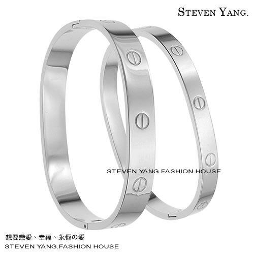 情人手環 西德鋼飾 螺絲紋 手環*單個價格*濱崎步最愛