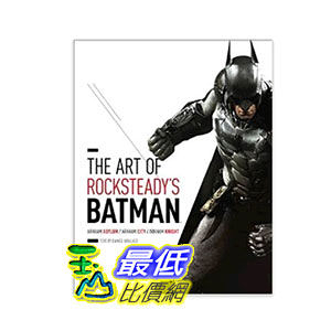 [104美國直購] The Art of Rocksteady s Batman: Arkham Asylum, Arkham City & Arkham Knight $1552