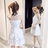 2020夏天新款衣服夜場氣質網紅裙子性感顯瘦流蘇法式連身裙洋裝仙女裙 OO6256【VIKI菈菈】