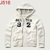 AF Abercrombie & Fitch A&F A & F 男 當季最新現貨 帽T外套 AF J516