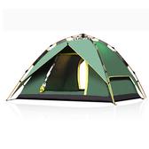 【PUSH!戶外休閒登山用品】拉繩式鋁合金桿3用4人帳篷P94