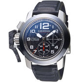 GRAHAM格林漢Chronofighter Steel強悍腕錶  2CCAC.B33A.L143S