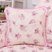 沙發抱枕亞麻沙發靠墊床頭靠枕套抱枕套床頭靠背套靠墊WY