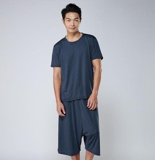 睡美能 舒眠睡衣 單入組(短袖上衣+7分褲)/男女共版-電電購