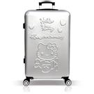 【YC Eason】45週年Hello Kitty26吋行李箱(銀色)