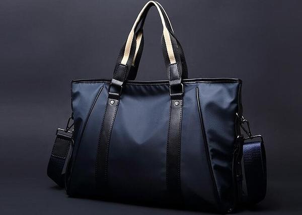 FINDSENSE品牌 韓國 新款  FIN韓國出品 包款 時尚 男士 防水 手提包 公文包 耐磨 潮流