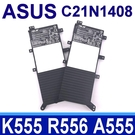 ASUS C21N1408 原廠電池 W...