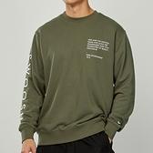Nike AS M NSW Swoosh Crew FT 男款 墨綠 刺繡 雙勾 衛衣 長袖 CU4035-380