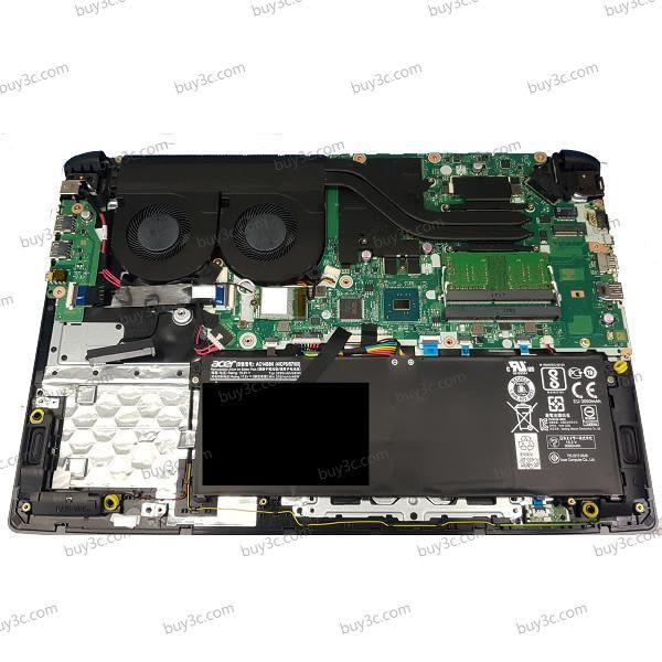 宏碁 acer A715-71G 黑 240G PCIe SSD+1T飆速特仕版【i7 7700HQ/15.6吋/GTX 1050/固態硬碟/FHD/Win10/Buy3c奇展】