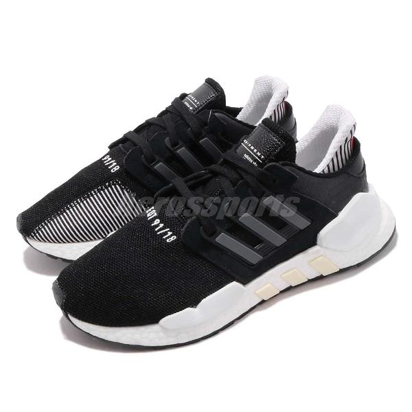 【四折特賣】adidas 復古慢跑鞋 EQT Equipment Support 91/18 W 黑 白 運動鞋 百搭款 女鞋【ACS】 DB2934
