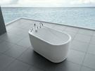 【麗室衛浴】BATHTUB WORLD YG3301 壓克力造型獨立缸 130CM