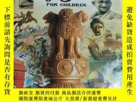 二手書博民逛書店GLORIOUS罕見HISTORY OF INDIA FOR GHlLDlAY452422 ANURAG M