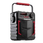 廣場舞音響帶無線話筒戶外便攜式播放器行動充電小型手提音箱k歌