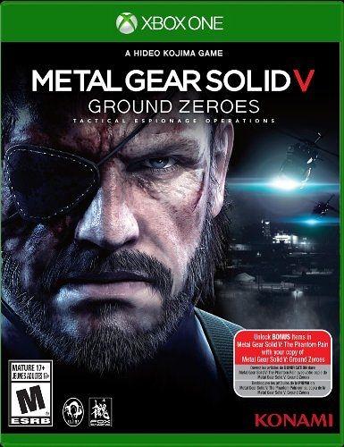 X1 Metal Gear Solid V: Ground Zeroes 潛龍諜影 5:原爆點(美版代購)
