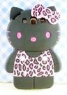【震撼精品百貨】Hello Kitty 凱蒂貓~HELLO KITTY 三星S3殼-黑豹紋