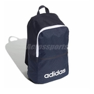 adidas 後背包 Linear Classic BP 藍 白 男女款 運動休閒 【PUMP306】 ED0289