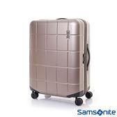 Samsonite新秀麗 25吋Tileum霧面防刮飛機輪硬殼TSA行李箱(象牙金)
