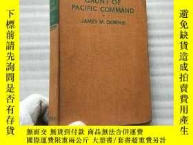 二手書博民逛書店GAUNT罕見OF PACIFIC COMMAND 32開 精裝 1948年版Y10893 JAMES M.D