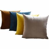 天鵝絨抱枕客廳沙發靠墊臥室床頭靠背墊北歐純色靠枕套定做不含芯ATF 探索先鋒