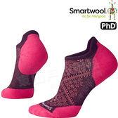 Smartwool PhD Run LT SW210-590葡紫 女輕量減震型跑步踝襪 美麗諾羊毛襪/戶外襪機能無筒襪/運動襪船襪