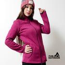 德國品牌 女款冬季禦寒厚刷毛料立領外套(CBH222)【德國-戶外趣】
